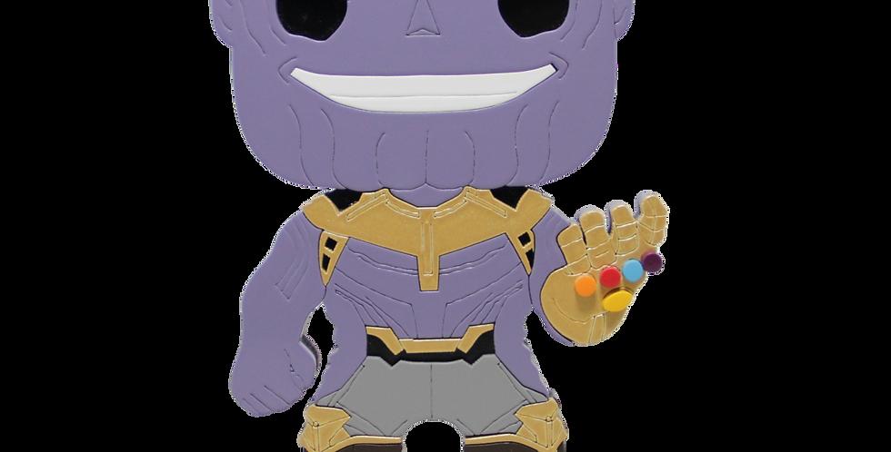 Boneco Laqueado- Geek- Thanos -Supervilão Vingadores - 19x15