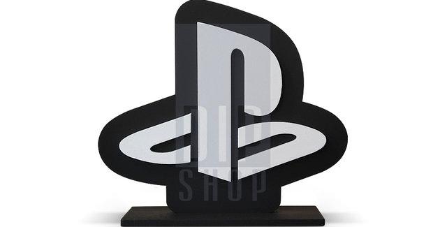 Palavra geek - Simbolo Playstation