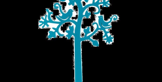 Árvore Decorativa Primavera - P - 43x23cm