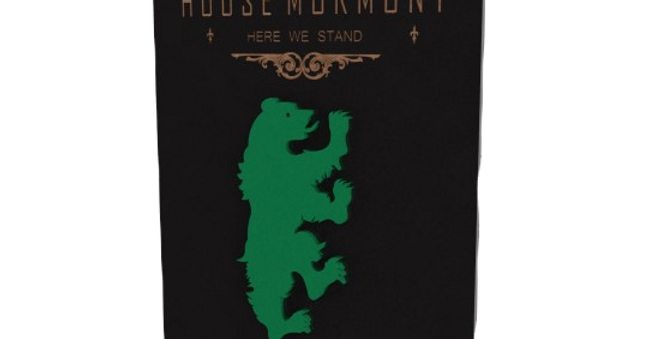 Quadro Game of Thrones Mormont - 40x25,8