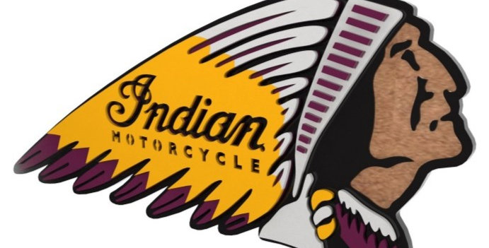 Quadro Indian Motorcycles - 40x30cm