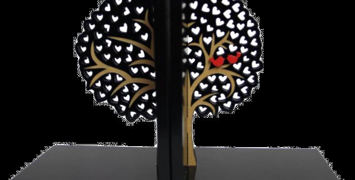 Aparador de Livro Árvore do Amor - 16x26cm