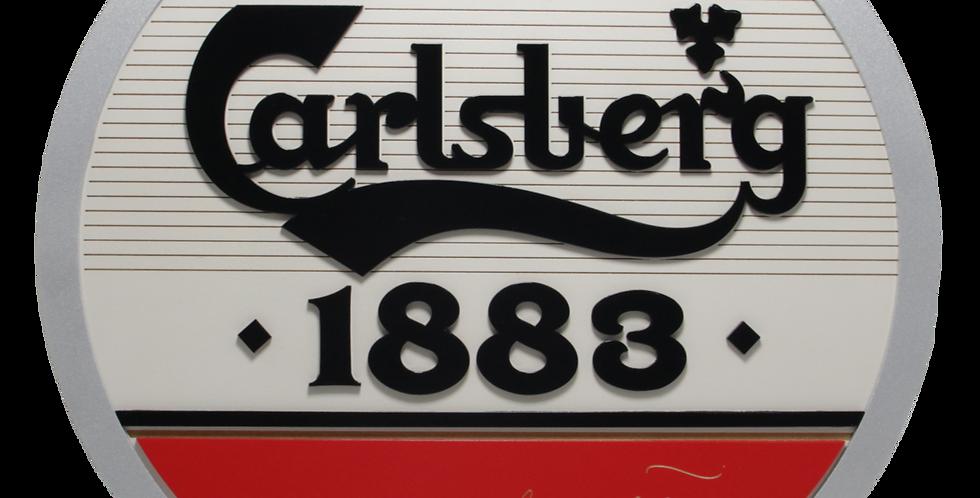 Quadro Carlsberg Retrô 3/6mm