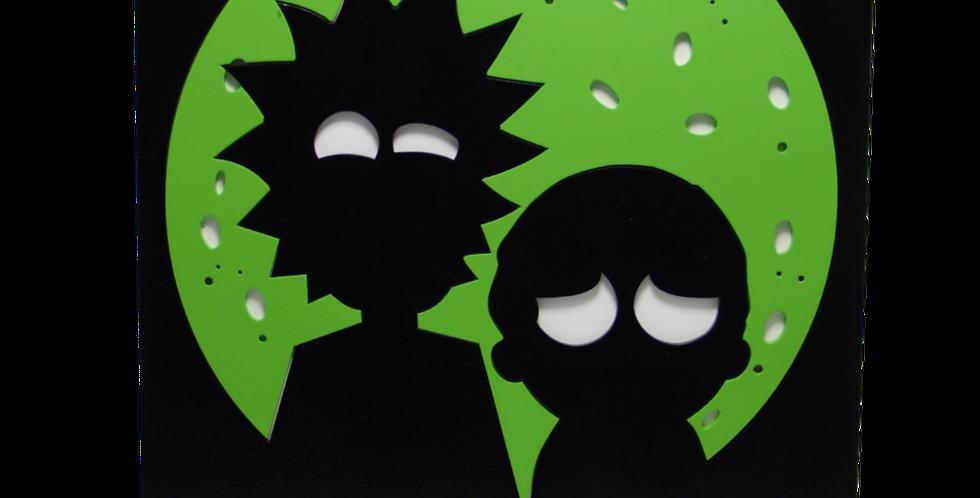 Lajotinha Rick and Morty 30x25cm