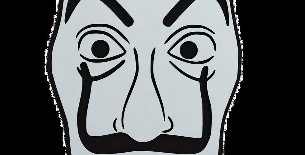 Quadro Decorativo Mascara La Casa de Papel - 30x20cm