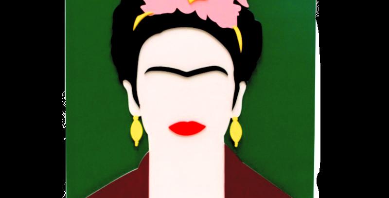 Quadro Frida Kahlo - 40x29,1cm