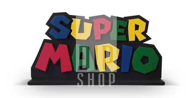 Palavra Geek - Super Mario (P)