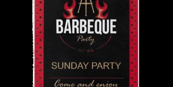 Quadro Barbeque Party - 40x26,6cm