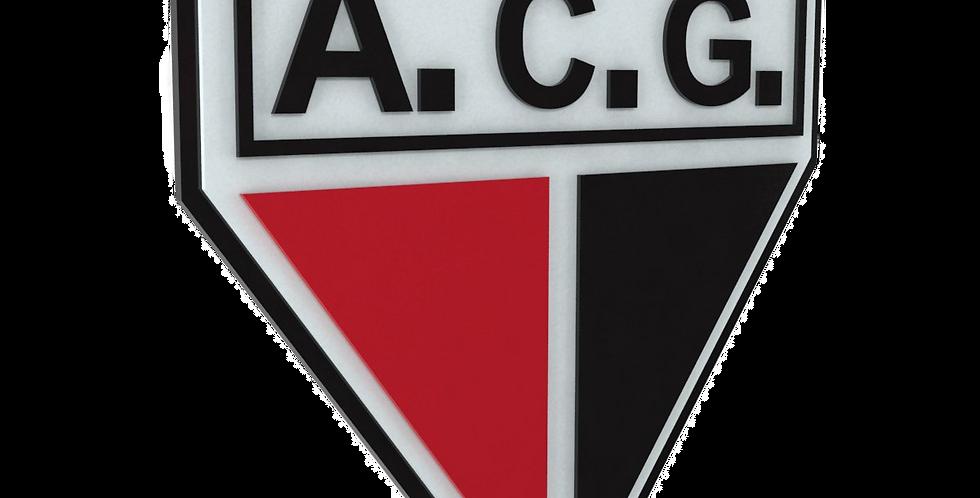 Quadro de Bar Laqueado - Time Atlético Goianiense - 40x40cm