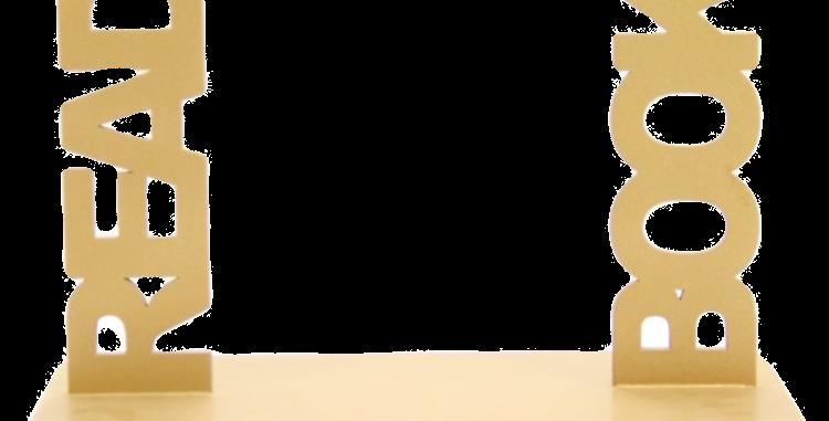 Aparador de livro Read Book - 18x420cm