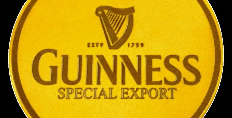 Porta Copos Guinness - 10x10cm