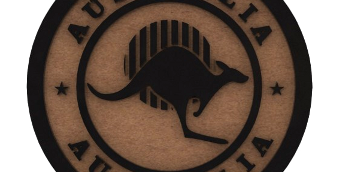 Porta Copo Austrália - 10x10