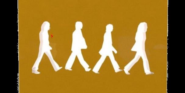 Aplique de Parede Beatles - 25x25cm