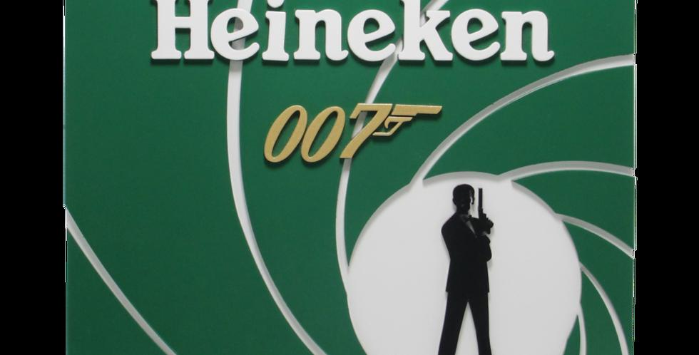 Quadro Heineken 007 3/6mm