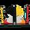 Thumbnail: Aparador Goku Saiajin -17x16 cm