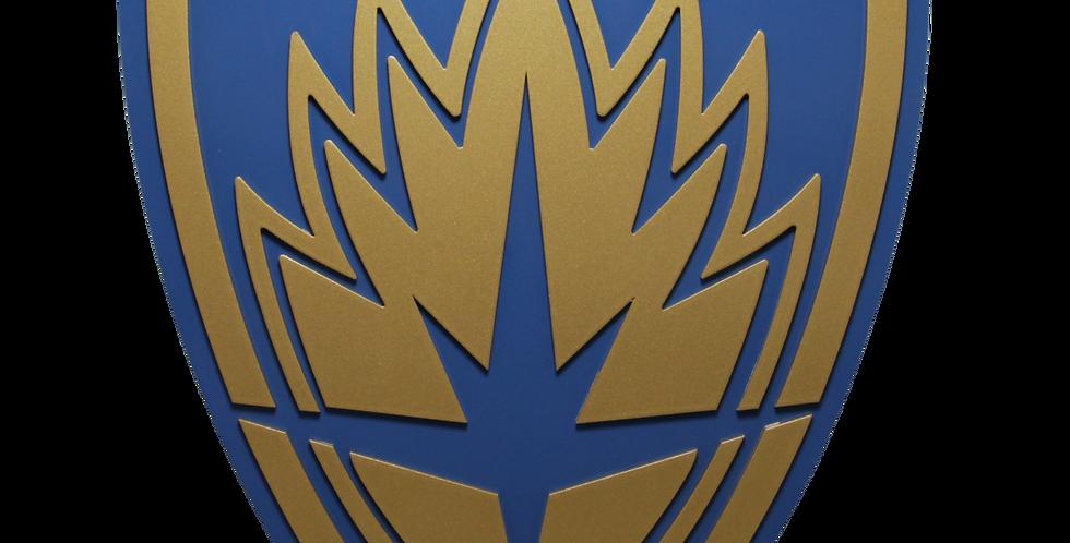Quadro Decorativo - Guardiões da Galaxia - Escudo - 40x26cm