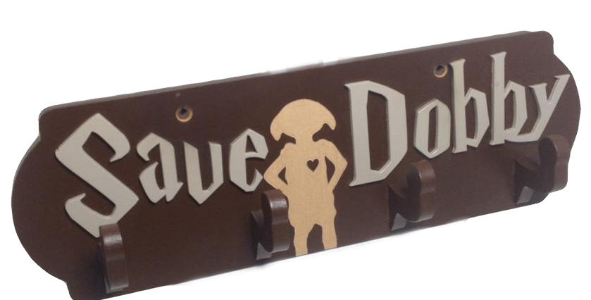 Cabideiro de Porta Harry Potter Save Dobby