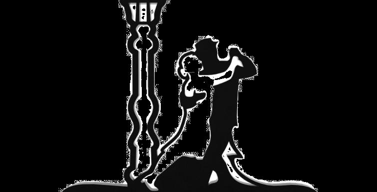 Objeto Decorativo Tango - 25x32cm