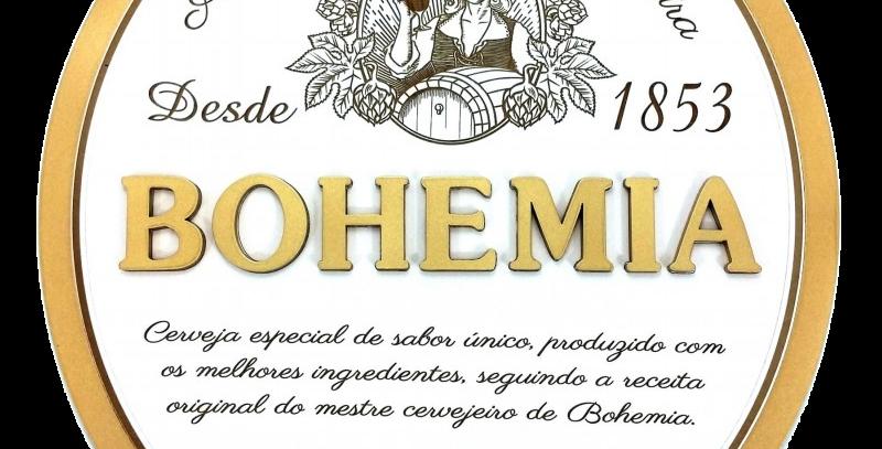 Quadro de Bebida Bohemia - 43x40cm
