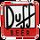 Thumbnail: Quadro de Bebida Duff Beer - 40x40cm