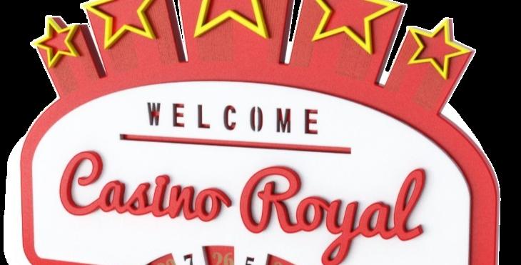 Quadro Casino Royal - 28,1x40cm