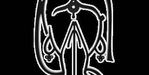 Aplique de Parede Mulher Namaste - 40x21,7cm