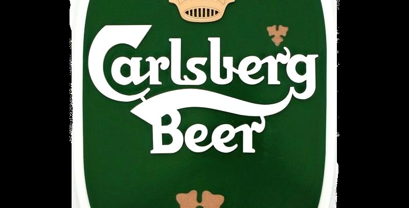 Quadro de Bebida Carlsberg - 26x43cm