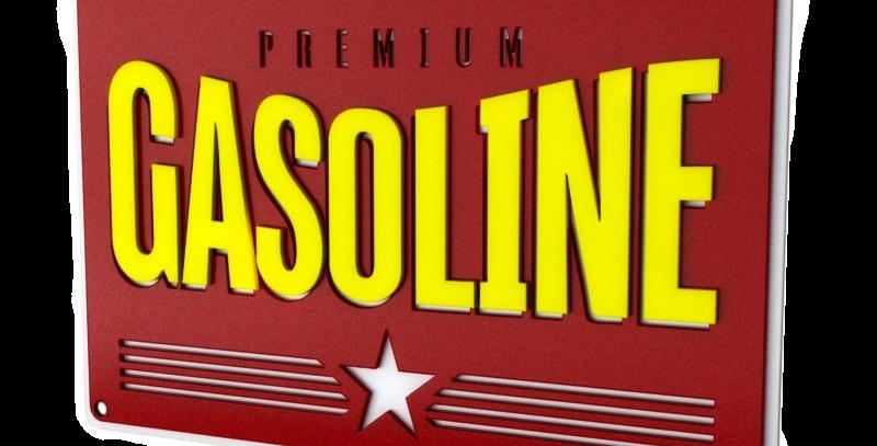 Quadro Gasoline - 26,8x40cm