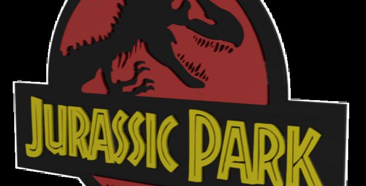 Quadro decorativo Jurassic Park - 40x40cm