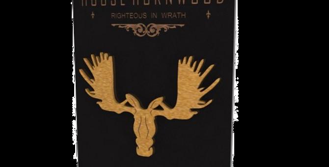 Quadro Game of Thrones Hornwood - 40x25,8