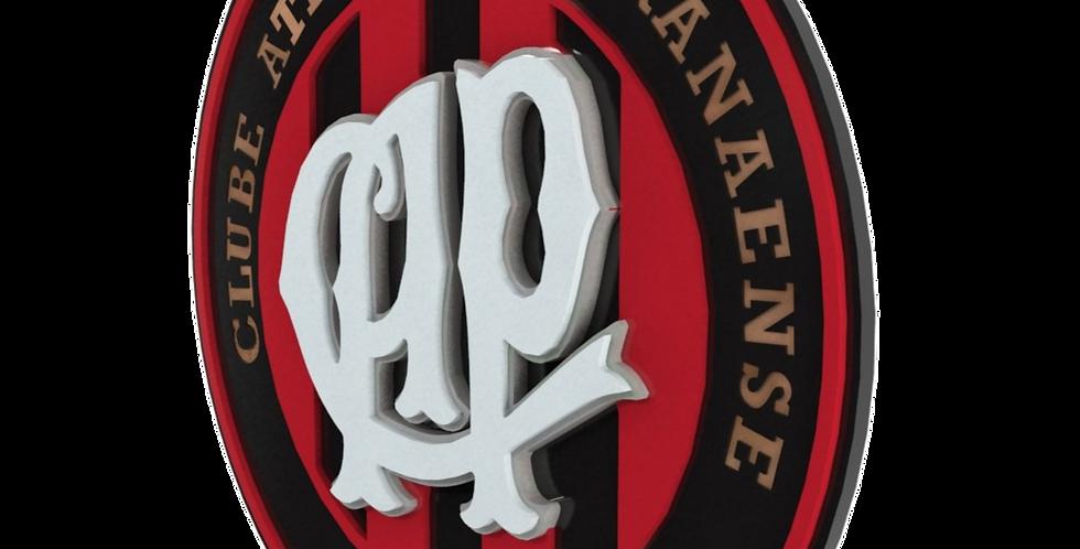 Quadro de Bar Laqueado - Time Atlético Paranaense - 40x40cm