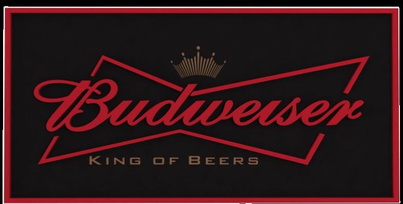 Quadro Bebida Budweiser - 40x20cm