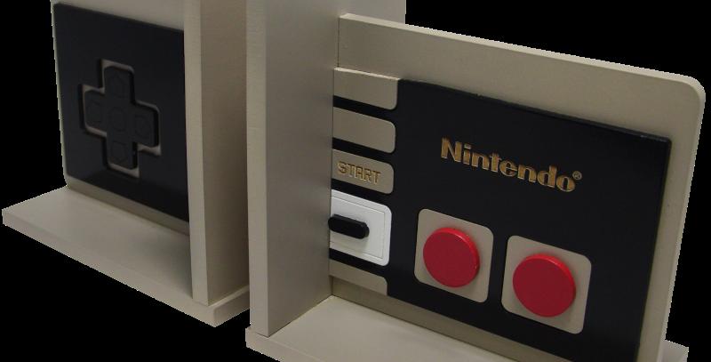 Aparador de Livro Nintendo Famicom115x30cm