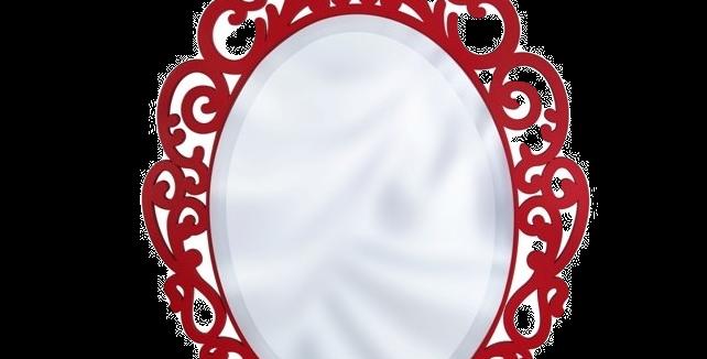 Espelho - Mod 01 - Tam P - 40x26,9cm
