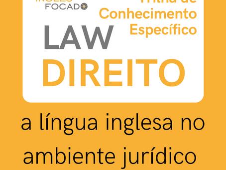 Trilha INGLÊS & DIREITO (LEGAL ENGLISH)