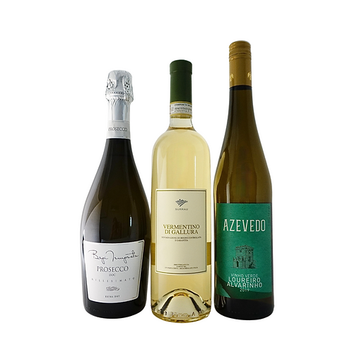 The Customer Knows Best I,  1 Sparkling & 2 Whites x 750ml