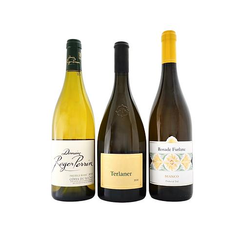Bombastic Blends I (more than 3 grape varieties), 3 Whites x 750ml
