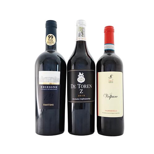 Bombastic Blends II (more than 3 grape varieties), 3 Reds x 750ml