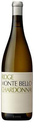 Ridge Vineyards Monte Bello Chardonnay 2007, Santa Cruz Mountains, USA