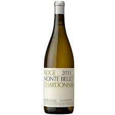 Ridge Vineyards Monte Bello Chardonnay 2013, Santa Cruz Mountains, USA