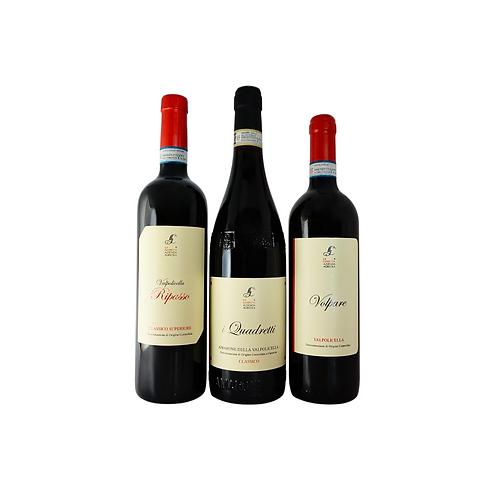 Sweet Talking Charmer - Veneto Valpolicella, 3 Reds x 750ml