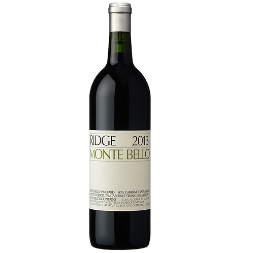 Ridge Vineyards Monte Bello 2013, Santa Cruz Mountains, USA (375ml)