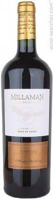 Millaman Estate Reserva Carmenere 2017, Curico Valley, Chile