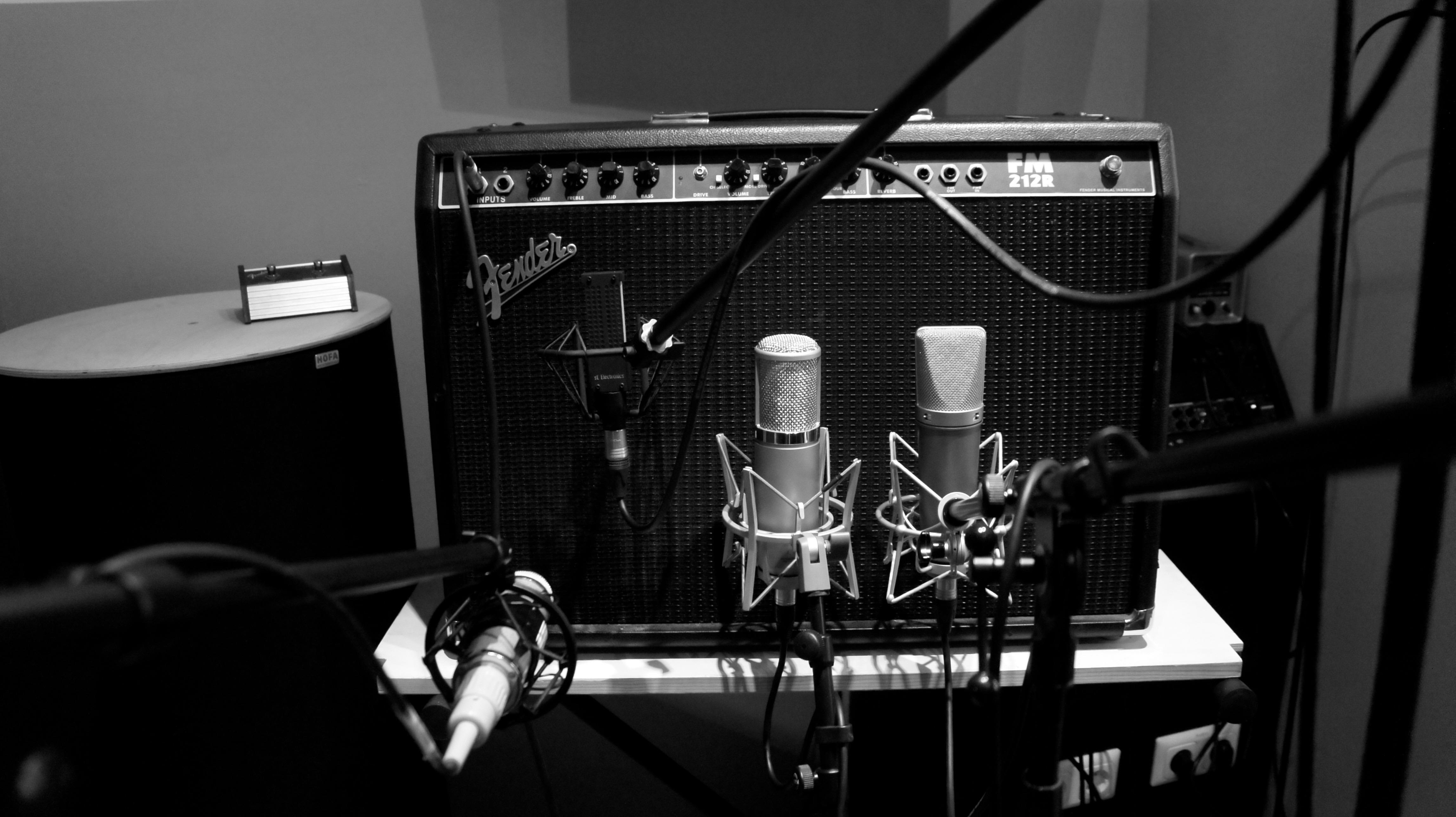 54 Fingers - Album Aufnahme