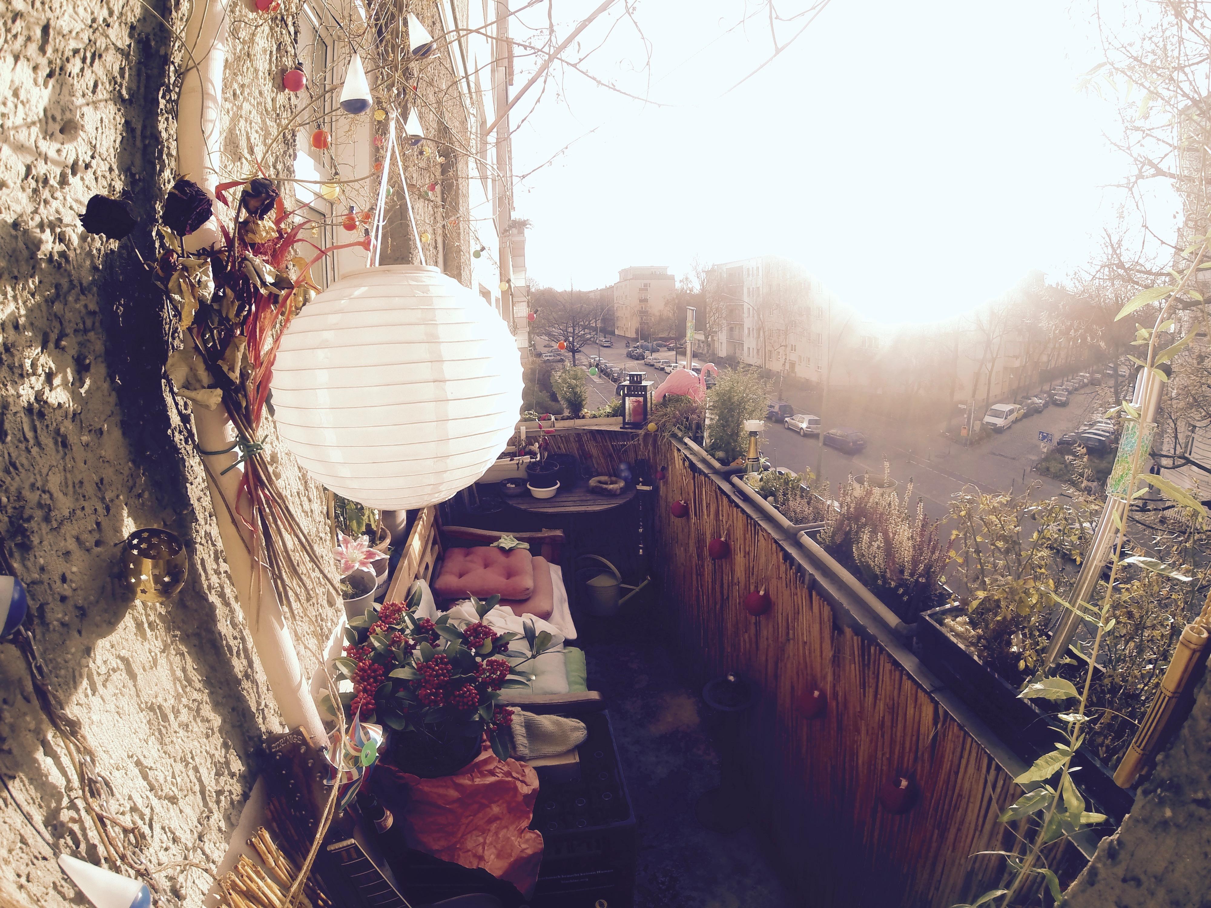 Der Balkon zum abschalten