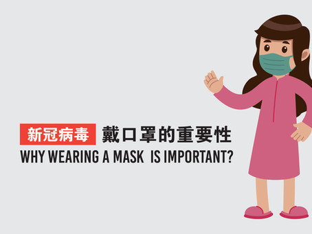 Why Wearing A Mask Is Important?