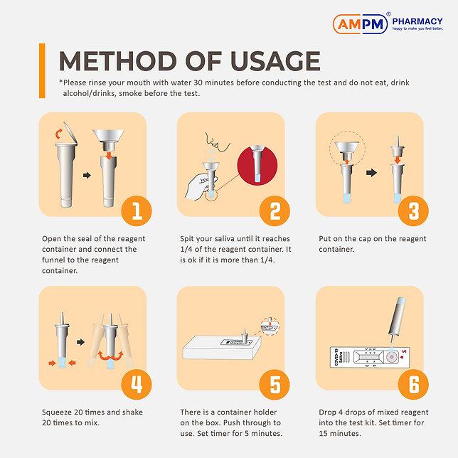 Gmate Antigen Saliva Self-Test Kit