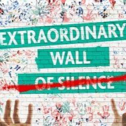 EXTRAORDINARY WALL OF SILENCE