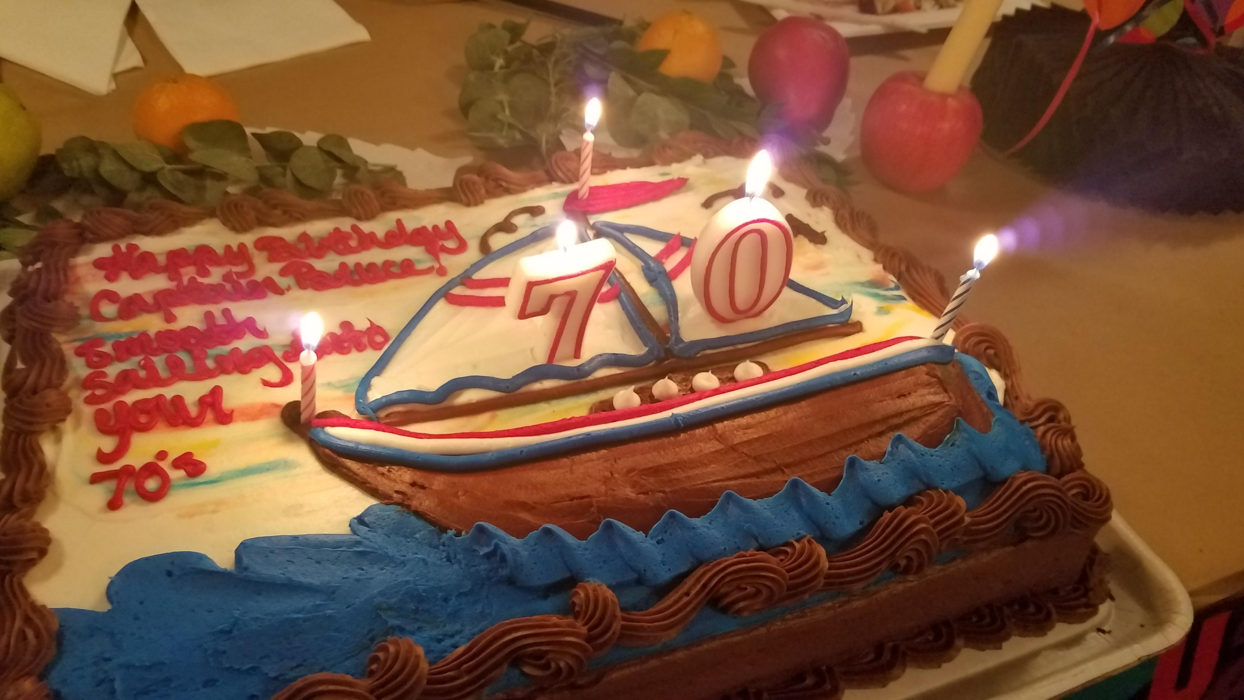 Bruce's Birthday Cake