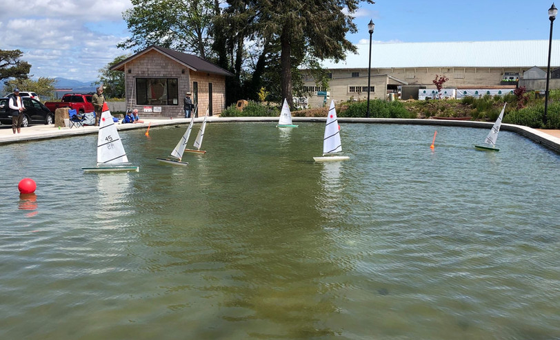 RC Racing at the Maritime Museum Pond
